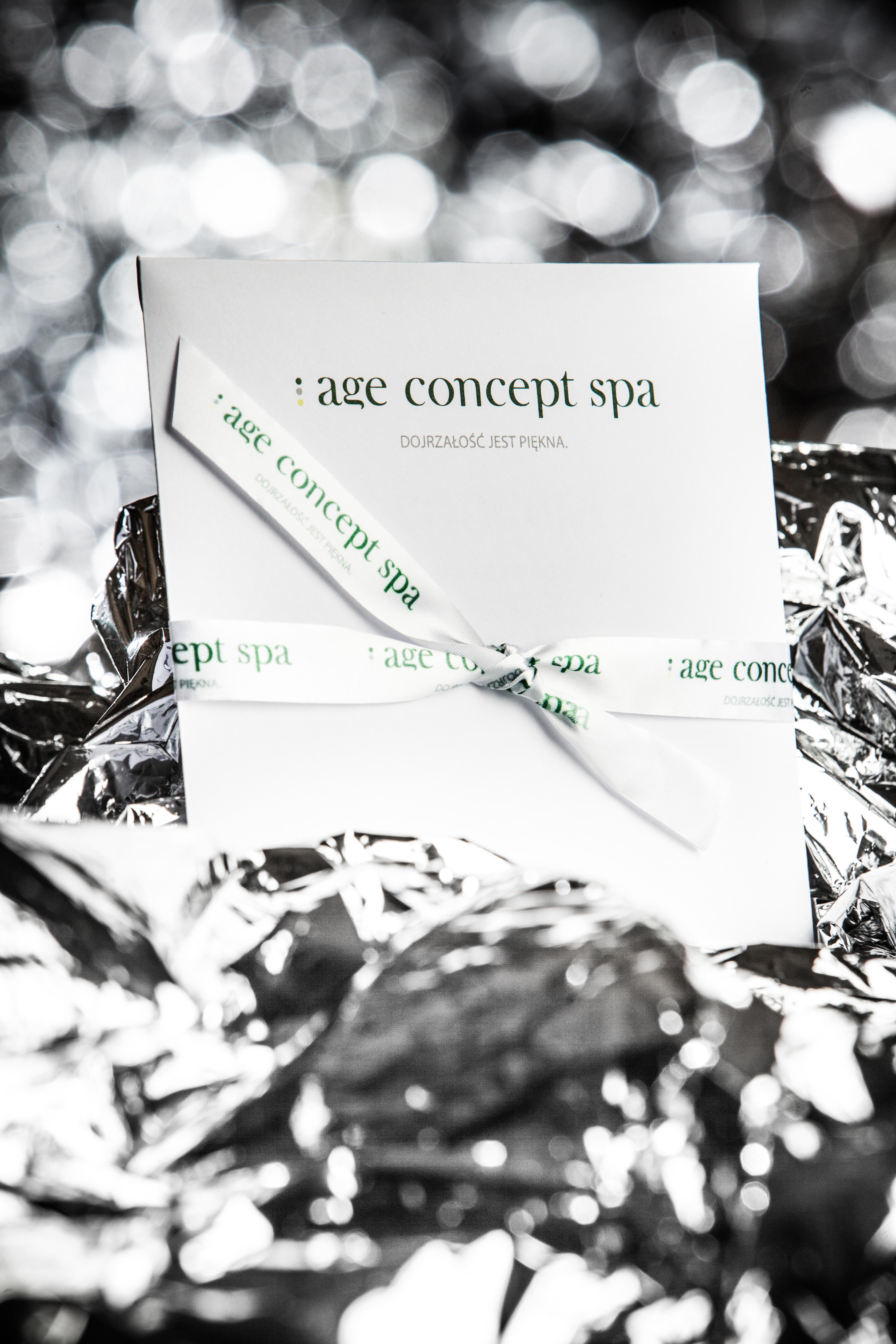 Vouchery upominkowe - age concept spa - Dojrzałość jest piękna - salon Day Spa Warszawa Żoliborz Bielany - gabinet kosmetyczny
