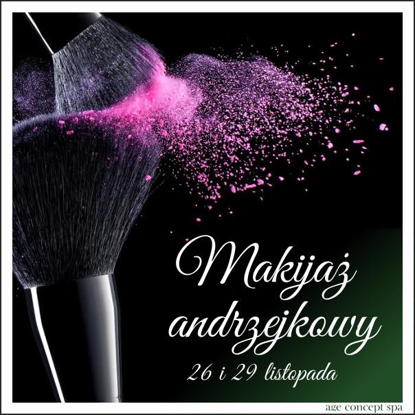 Makijaż andrzejkowy Age concept Spa Warszawa Bielany Żoliborz salon kosmetyczny